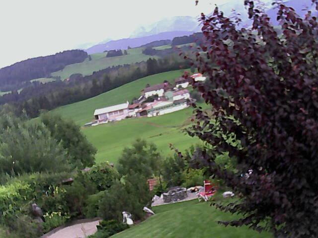 Blick von der Terrasse Gästehaus Langenries in Oberreute